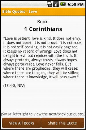 Good Bible Quotes About Love