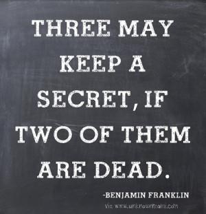 quotes about secrets