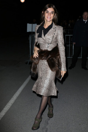 Carine Roitfeld Carine Roitfeld attends the Givenchy show as part of
