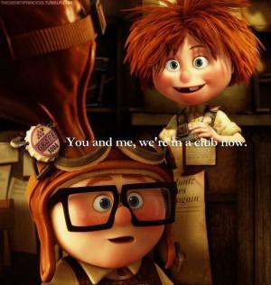 ... Pixar Up Carl And Ellie, Disney Pixar, Things, Carl Ellie, Favorite