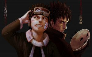 Uchiha Obito and Madara Uchiha Funny