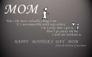 Happy Mothers Day Quotes