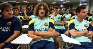 Anuncia Carles Puyol Salida