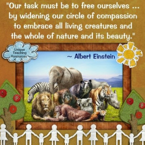Einstein Quotes - Our task must be to free ourselves by widening our ...