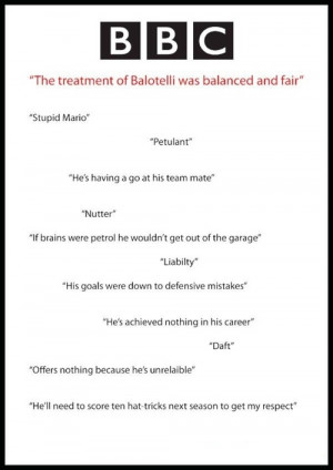 Mario Balotelli Quotes Clinic