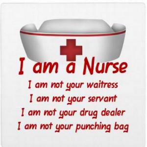 "Am A Nurse"" Plaque"