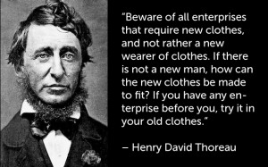 David Henry Thoreau Quotes Walden