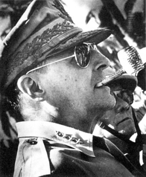 Quotes from Douglas MacArthur to Admiral Chester Nimitz