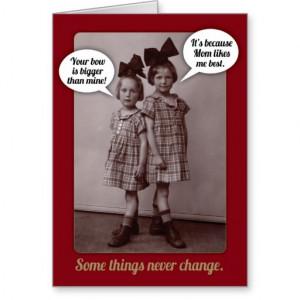 funny_vintage_1920s_older_sister_birthday_card ...