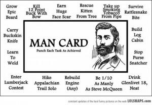 The Man Card