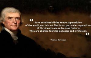 Thomas Jefferson Quotes On Freedom Of Religion Thomas jefferson ...
