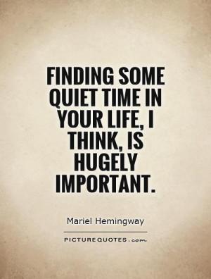 Quiet Quotes