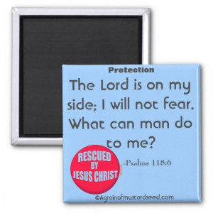 Christian Quotes Refrigerator Magnet