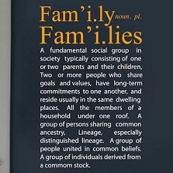 Family Definition Funny Quote
