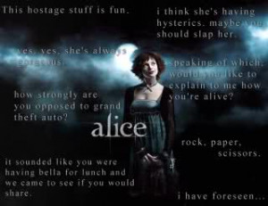 Bezeichnungen: alice cullen ashley greene twilight quotes