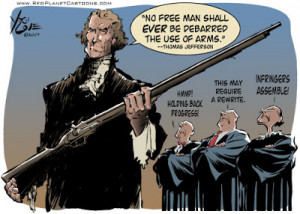 jeffersons quote on firearms
