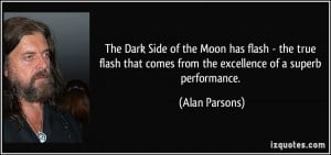 The Dark Side of the Moon has flash - the true flash that comes from ...
