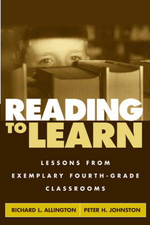 "Start by marking ""Reading to Learn: Lessons from Exemplary Fourth ..."