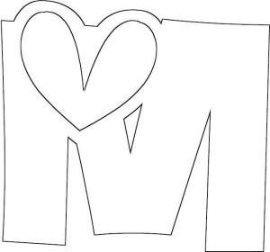 Alphabet Letter M Coloring Page