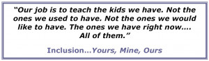 Inclusion Of Special Education Students Quotes