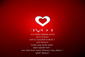 True love red words quotes abstract wallpaper