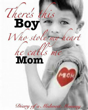 beautiful quote for Mother's Day. Sons Quotes, Heart, Quotes Mothers ...