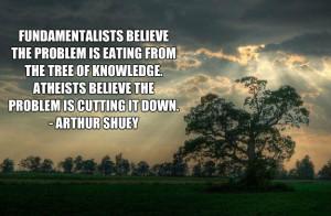 abaldwin360 christinsanity the tree of knowledge beautiful quote via ...