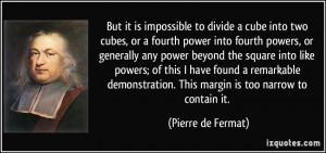 More Pierre de Fermat Quotes
