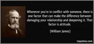 Conflict Quote...
