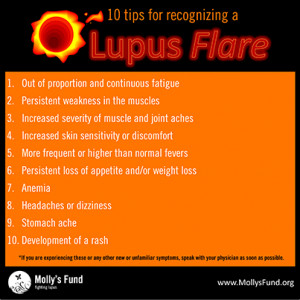 Lupus Flares: Recognizing one, triggers, and prevention
