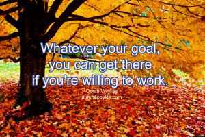 Success Quote: Whatever your goal, you can get there…