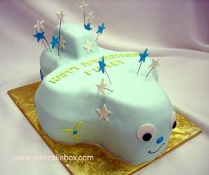 First Birthday Airplane Cake (419)