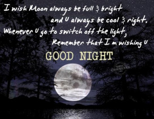 Goog Night Quotes picture