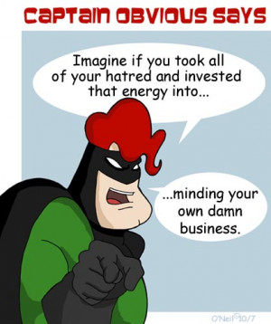 ... this other stuff mind your own business your crap don t shine either