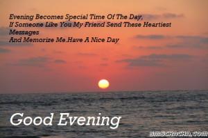 Good Evening Sms