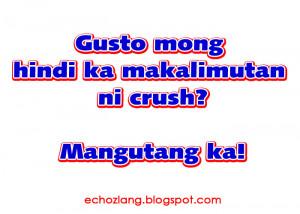Gusto mong hindi ka makalimutan ng taong mahal mo? Mangutang ka.