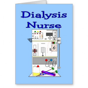Dialysis Nurse Chick Greeting Card From Zazzle