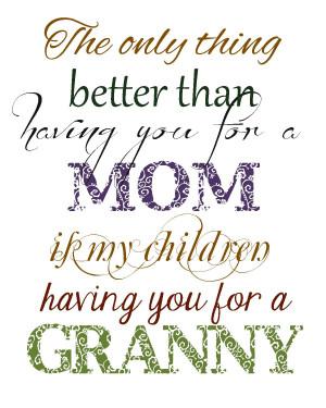 Beautiful Grandmother Quotes