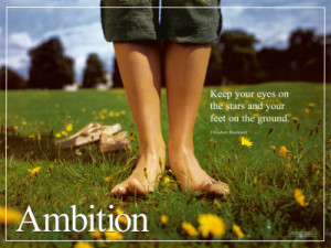 The Role of Ambition in Life :