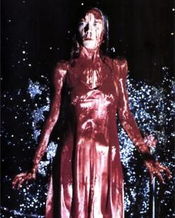 Sissy Spacek as Carrie. Epic!