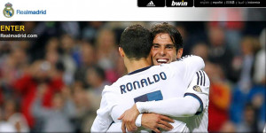 Cris♥Ka appreciation on realmadrid.com's starting page ♥