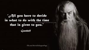 Gandalf-quotes