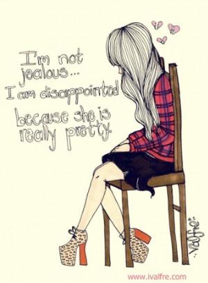 art, cute, drawing, fashion, funny, girl, heartbroken, illustration ...