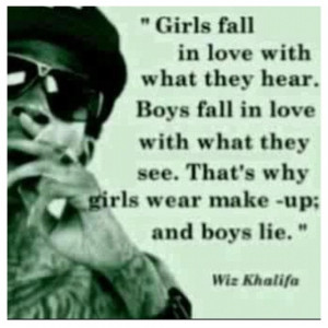 Why Girls Wear Makeup Quotes