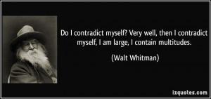 Walt Whitman Quotes...