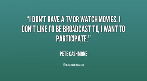 Quotes About Watching Tv