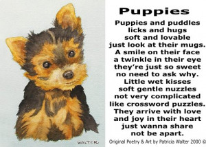Dog Poetry 3 by Patricia Walter