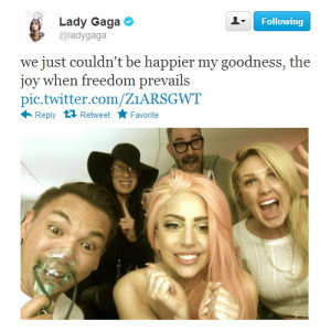 ... shadow twitter 2012 tweet born this way era lady starlight Tara Savelo