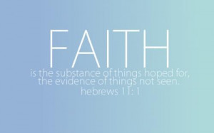 What is Faith? – Faith Wallpaper