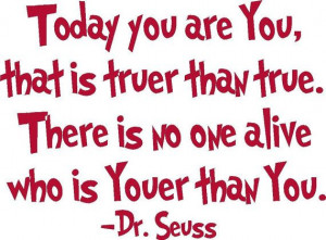... you are you dr seuss vinyl wall lettering decal quote childs room